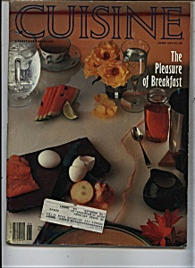 Cuisine Magazine - June 1984 (Image1)