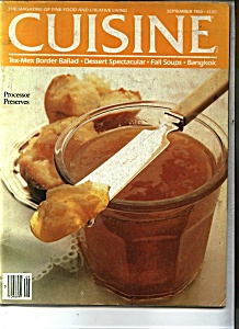 Cuisine Magazine - September 1980 (Image1)