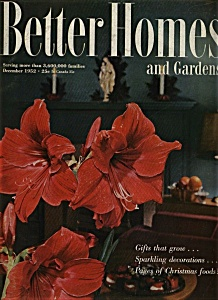 Better Homes and Gardens - December 1952 (Image1)
