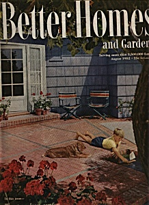 Better Homes and Gardens magazine- August 1952 (Image1)