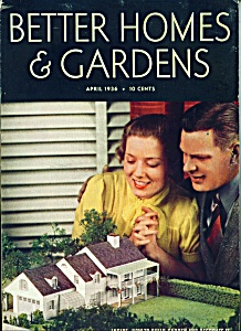 Better Homes & Gardens magazine -  April 1936 (Image1)