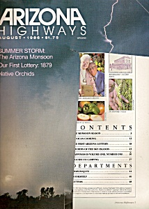 Arizona Highways -  August 1986 (Image1)