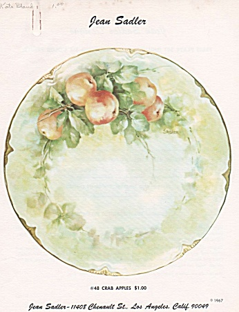 Jean Sadler - Crab Apple Design - 48 - Vintage