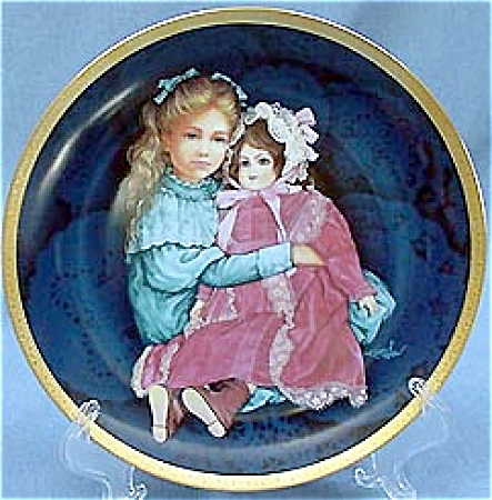 SARA and MARIE~LE~by KAREN NOLES~DOLL PLATE (Image1)