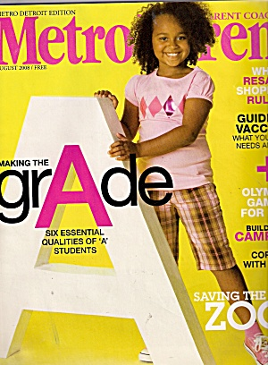 Metro Parent Magazine August 2008