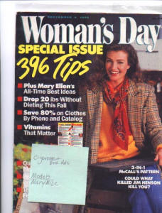 1990 Womans Day Magazine Mary Mize (Image1)