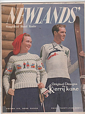 Vintage - 1947 - Newlands - Family Knit Wear - K.kane