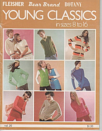 Vintage - Young Classics - Szs 8 To 16 - Knit