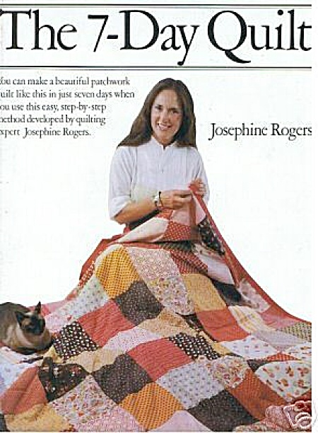Vintage - The 7-day Quilt - Tops Pattern Book - Oop