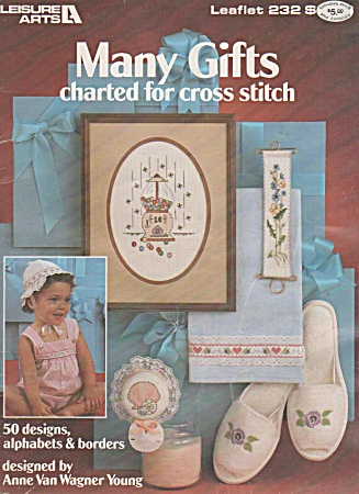 Many Gifts Charted For Cross Stitch Patterns