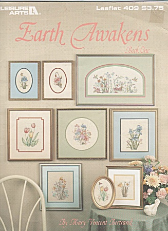 Cross Stitch Patterns - Wildlife And Floral - Oop