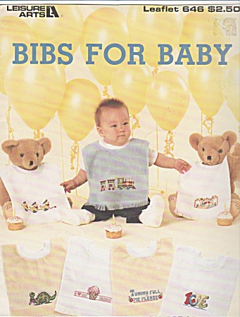 Cross Stitch - Bibs For Baby - Leisure Arts 646