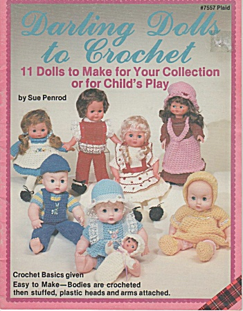 Darling Dolls - Crochet Pattern Book - 11 Dolls