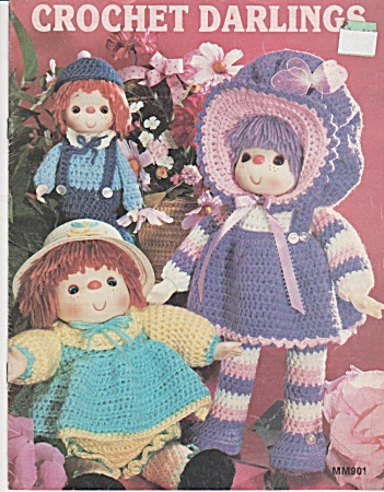 Crochet Darlings - Mm901 - Dolls - Clown - Oop - 1983