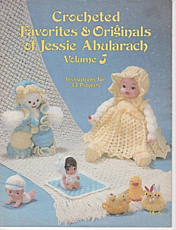 Vintage - Jessie Abularach - Dolls And More - Vol 5