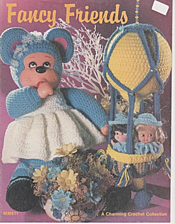 Vintage - Fancy Friends - Crochet - Oop