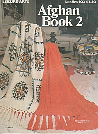 Vintage - Afghans - Leisure Arts - Oop