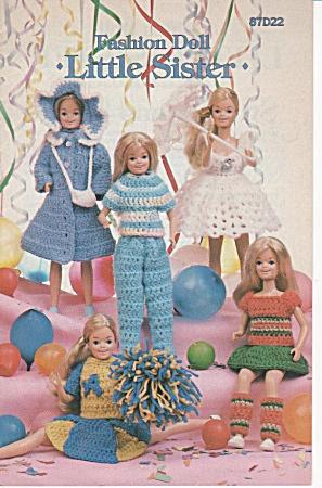 LITTLE SISTER~Crochet Book~FASHION DOLL~RARE~ (Image1)