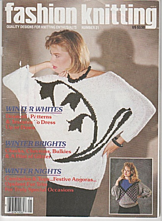Fashion Knitting Magazine - Number 21 - Oct 85