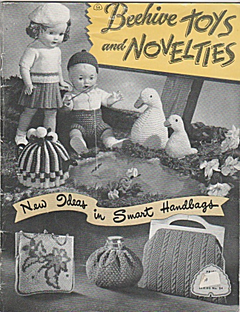 Beehive Toys And Novelties - Vintage - Knit Etc