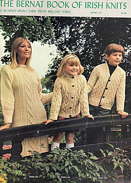 Bernat Knitting - 145 - Irish Knits - Family - Design