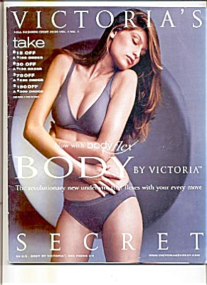 2000 Fall Body Flex Victoria Secret Catalog (Image1)