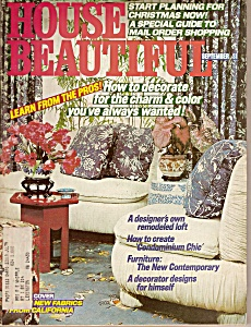 House Beautiful - september 1977 (Image1)