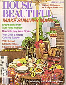 House Beautiful - June 1979