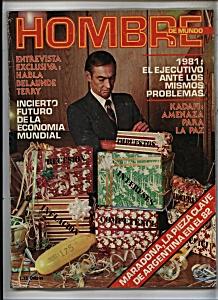 HOMBRE  de mundo  Diciembre de 1980 (Image1)
