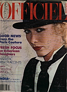 L'Officiel Magazine -  April,  1978 (Image1)