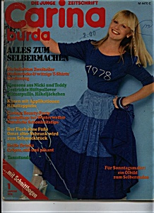 CARINO BURDA  Magazine - January 1978 (Image1)