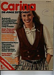 Carina Die Junge Zeitschrift - August 1978 (Image1)