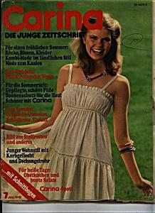 Carina die junge Zeitschrift magazine - 7 July 1978 (Image1)