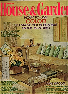 House & Garden - March  1974 (Image1)
