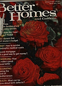 Better Homes and Gardens - March 1974 (Image1)