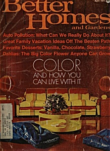 Better Homes and Gardens magazine - April 1971 (Image1)