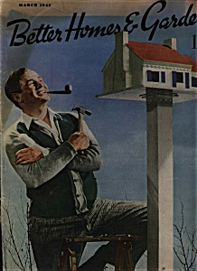 Better Homes & Gardens Magazine - March 1940 (Image1)