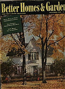 Better Homes & Gardens Magazine- November 1942
