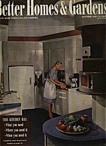 Better Homes & Gardens Magazine - October 1945 (Image1)
