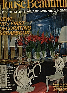 House Beautiful magazine - January 1971 (Image1)