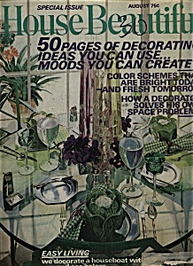 House Beautiful Magazine - August 1972 (Image1)