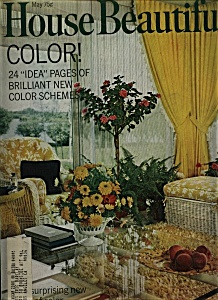 House Beautiful Magazine - May  1969 (Image1)