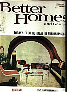 Better Homes and Gardens - February 1970 - (Image1)