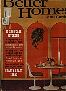 Better Homes and Gardens magazine - March 1969 (Image1)