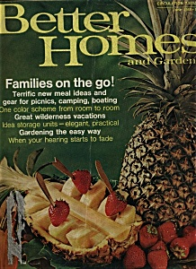 Better Homes and Gardens magaz ine - June 1969 (Image1)