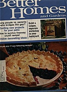 Better Homes And Gardens Magazine - July 1969
