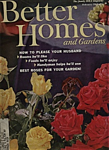 Better Homes and Gardens Magazine - February 1962 (Image1)