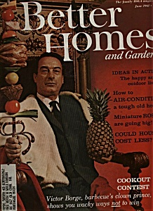 Better Homes And Gardens Magazine - June 1961