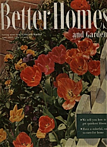 Better Homes and Gardens Magazine - April 1952 (Image1)