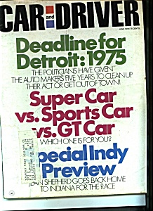 Car and Driver magazine- June 1970 (Image1)